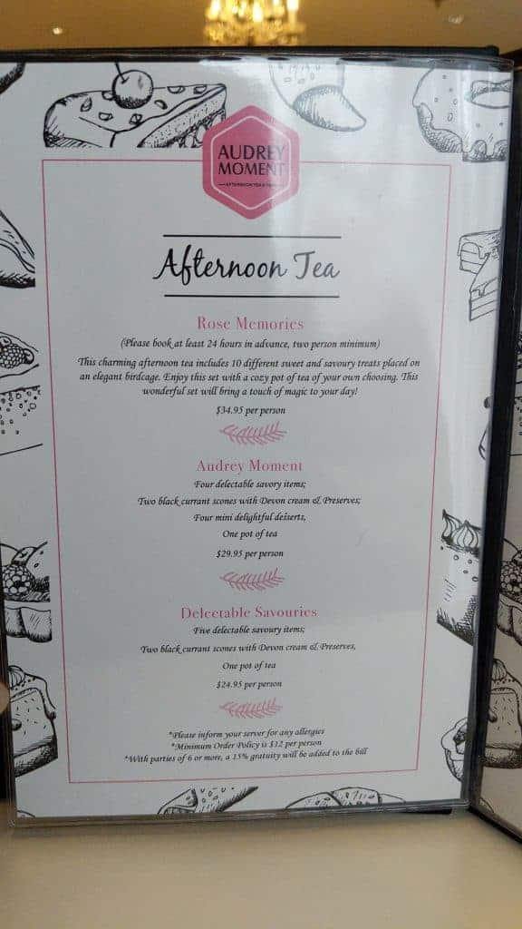 Chinese New Years Afternoon Tea At Audrey Moment