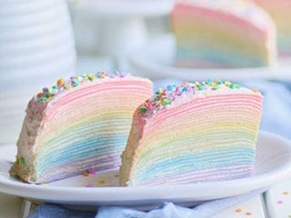 30 Layer Rainbow Mille Crepe Cake Indulge With Mimi