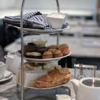 Afternoon Tea at Colette Grand Cafe in Holt Renfrew