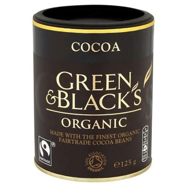 Green and Blacks Organic Fairtrade Cocoa Powder