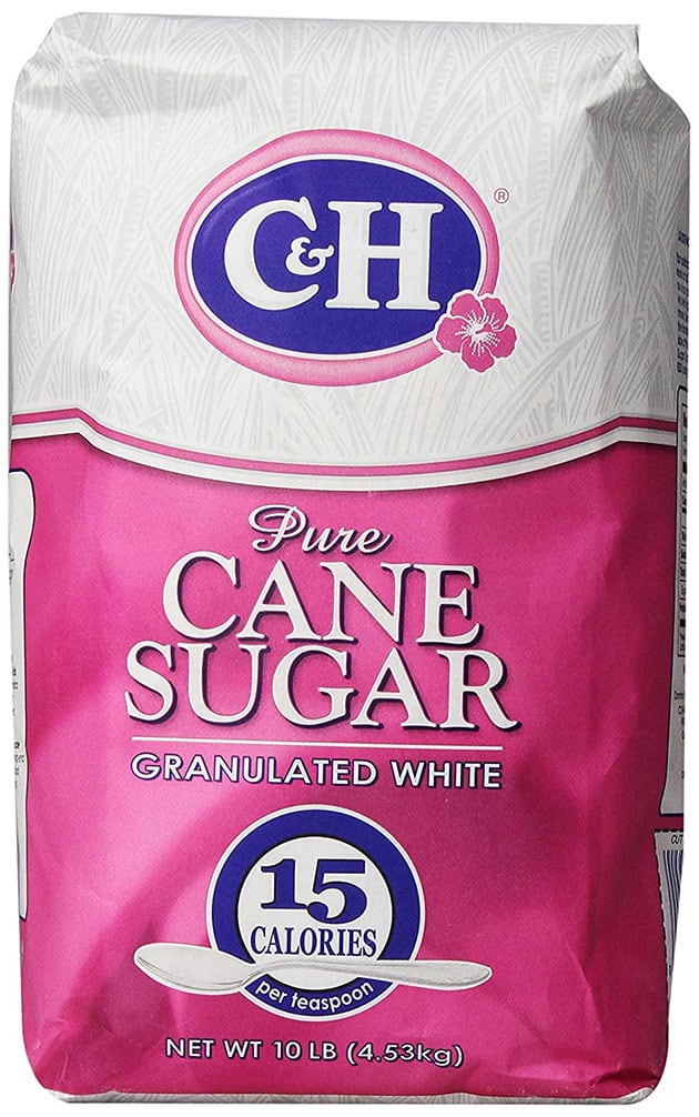 C&H Pure Cane, Granulated White Sugar, 10 lb