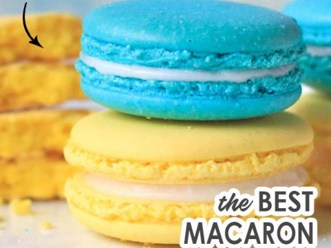 The Best French Macaron Recipe With Video Template Indulge With Mimi